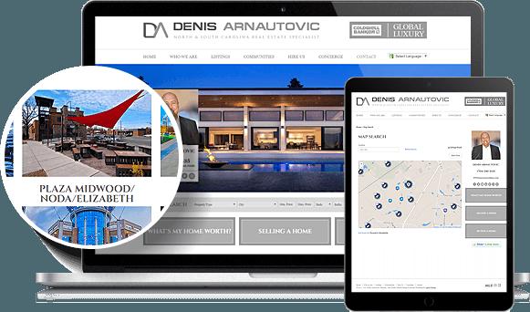 Denis Arnautovic IDX Website Design