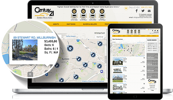 Century 21 Emma Realtors IDX Website