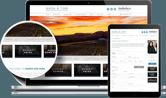 Nada & Tom IDX Website Design