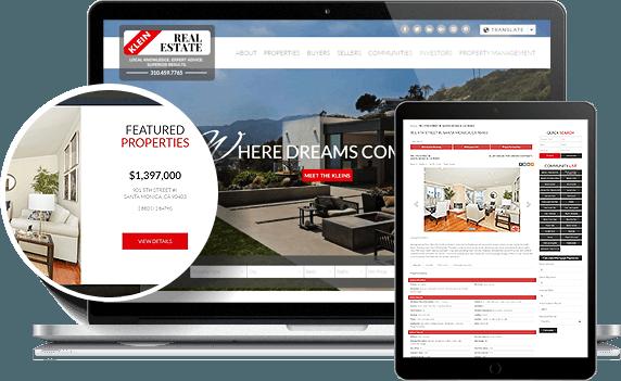 Klein Real Estate IDX Website Design
