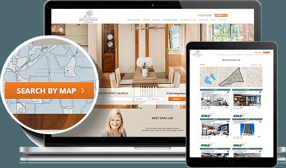 Sara Lee Parker IDX Website Design