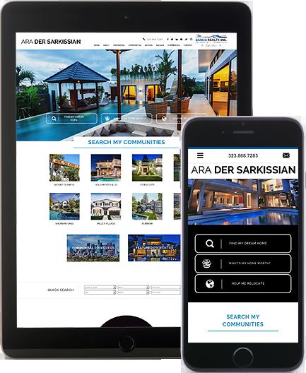 Ara Der Sarkissian - AgentImage Best Mobile Real Estate Websites