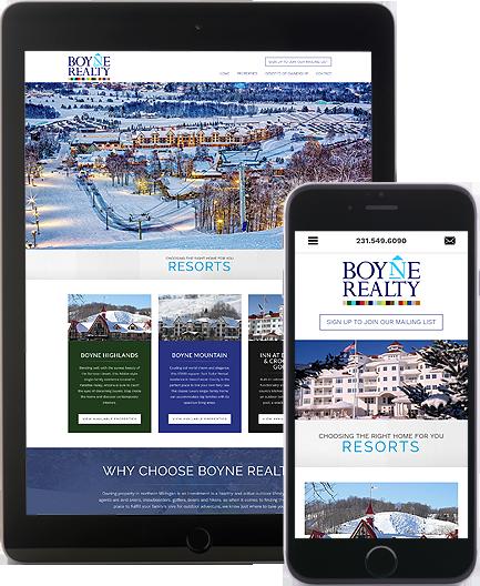 Boyne Realty - AgentImage Best Mobile Real Estate Websites