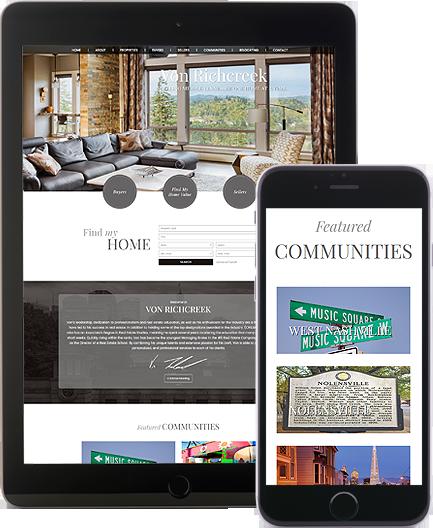 Von Richcreek - AgentImage Best Mobile Real Estate Websites