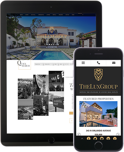 The Lux Group - AgentImage Best Mobile Real Estate Websites