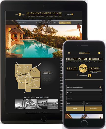 Shannon Smith Group - AgentImage Best Mobile Real Estate Websites
