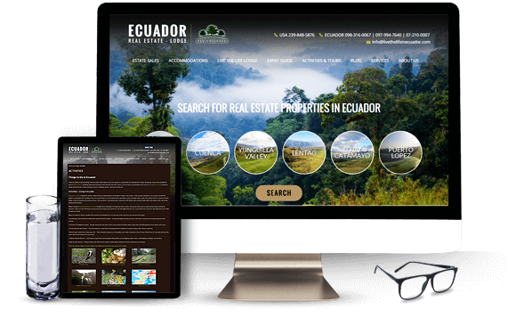 Live The Life in Ecuador - AgentImage Best Real Estate Marketing Website