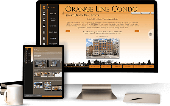 Orange Line Condo - AgentImage Best Real Estate Marketing Website