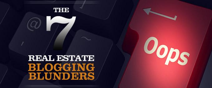 Image for 7 Real Estate Blogging Blunders