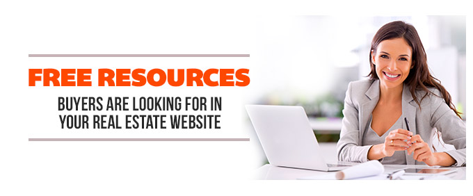 Image for Free Resources Buyers Are Looking For in Your Real Estate Website