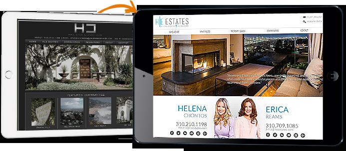 real estate agent website templates