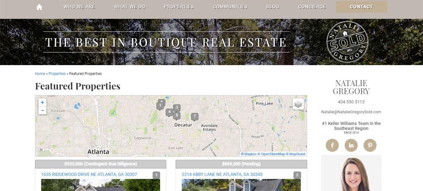 Natalie Gregory Featured Properties